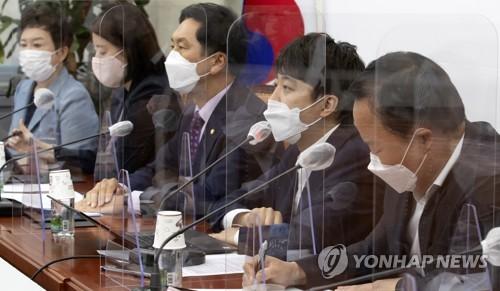 국민의힘, 당직자 확진에 이준석·김기현 일정 취소